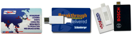 Full colour printing your logo on Promo Flash Drives