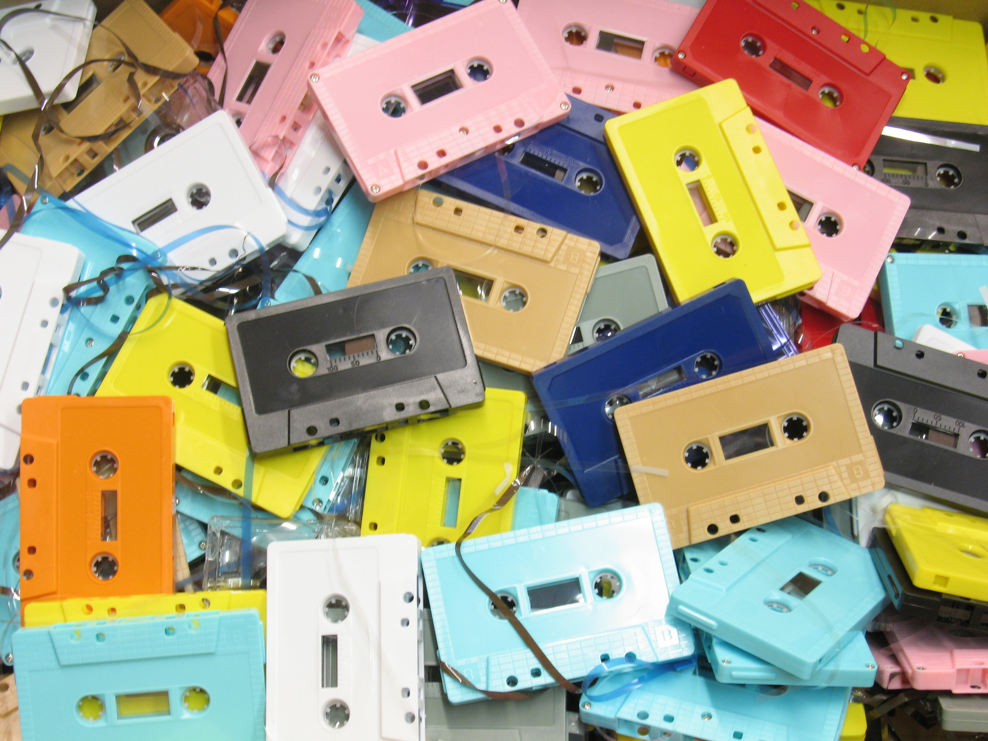 Audio Cassette High Resolution Huge Images