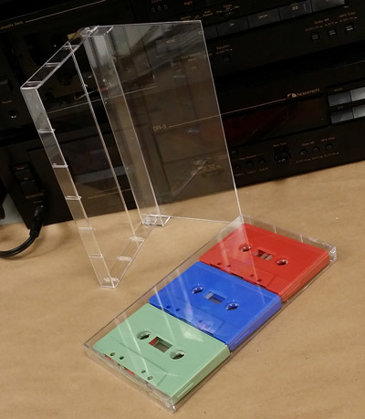 triple audio cassette norelco case