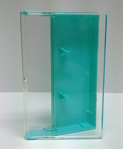 Turquoise Audio Cassette Cases