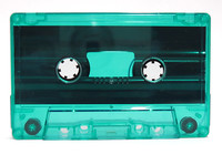 green tinted cassette