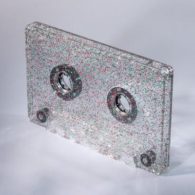 silver green red cassette c-zero