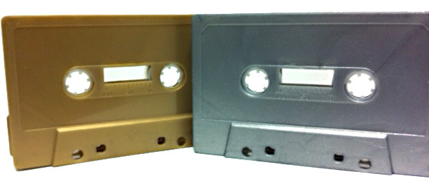 audio cassette colour selection