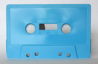 blue 1826 audio cassette