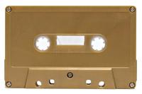 gold cassette