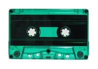 Green tint cassette tape