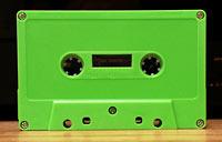 Lime Green Cassette