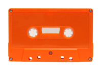 orange cassette