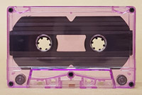 purple tinted cassette