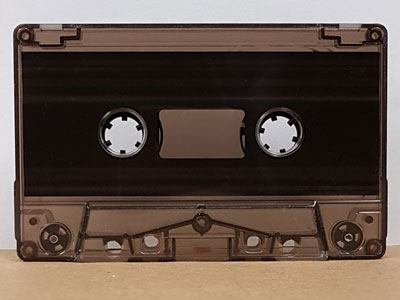 smoke tinted cassette