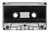 smoke-tinted cassette