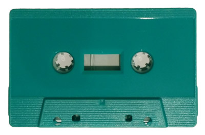 Turquoise cassettes