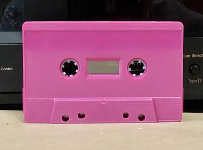 Violet Audio Cassette