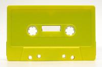 yellow cassette
