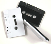 the black and white cassette