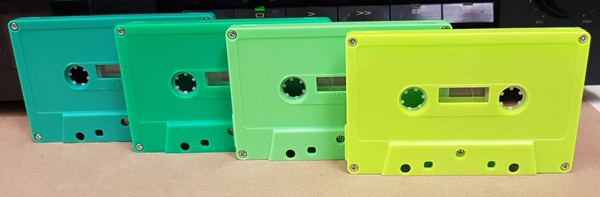 green family of cassettes