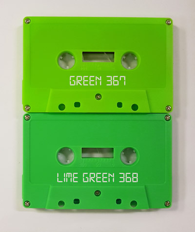 wasabi green vs lime green cassettes