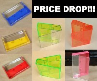 Price drop on audio cassette cases