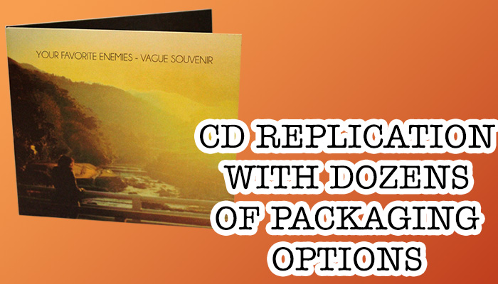 CD pressing with dozens of packaging options from Duplication.ca
