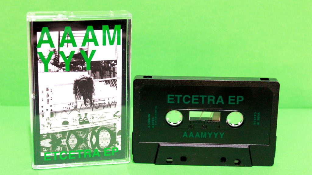 AAAMYY Etcetra EP manufactured at Duplication.ca