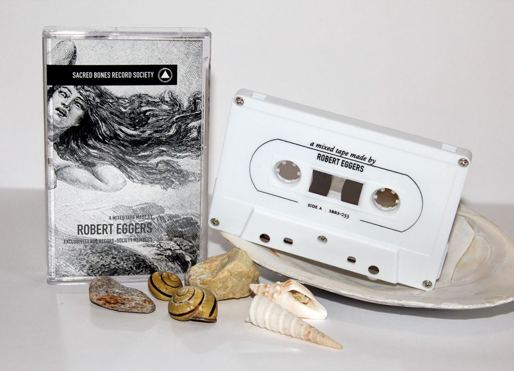 Sacred Bones Record Society - Robert Eggers mixtape, manufactured by Duplication.ca