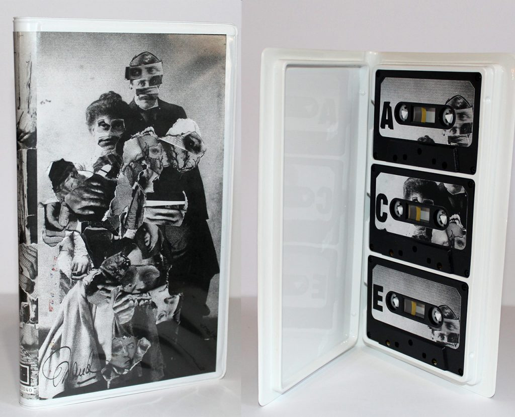 """MTL Tapes"" released by La Cohu and packaged in a Triple Cassette Album from Duplication.ca"