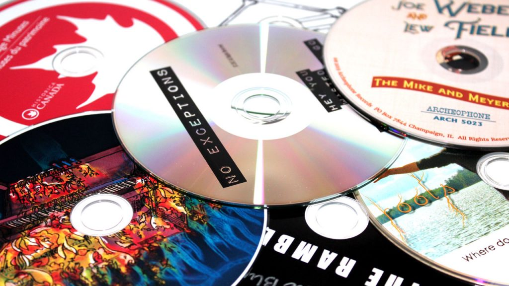 Silkscreen, inkjet, and thermal CD and DVD printing at Duplication.ca