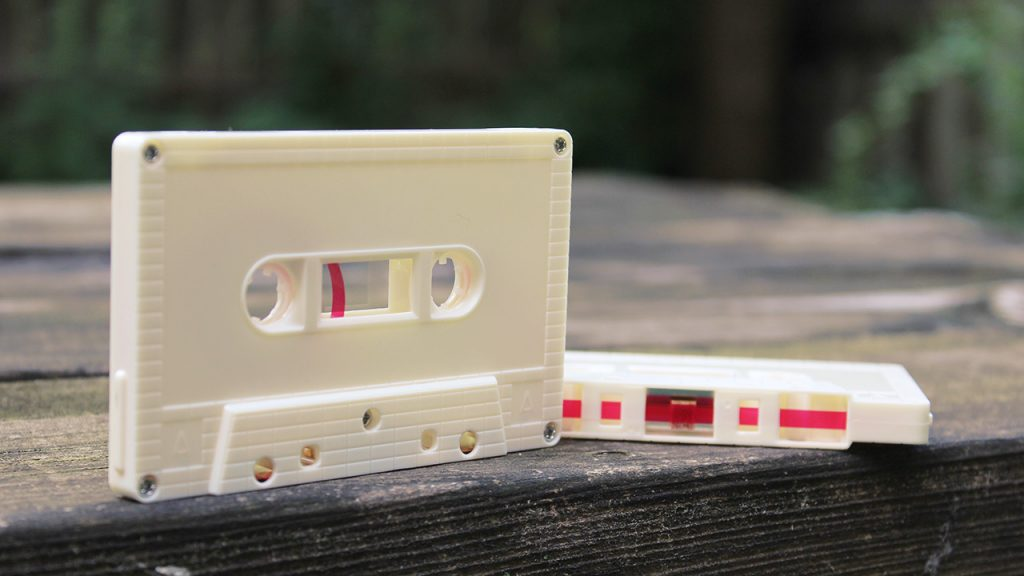 Egg Shell colour cassettes at Duplication.ca