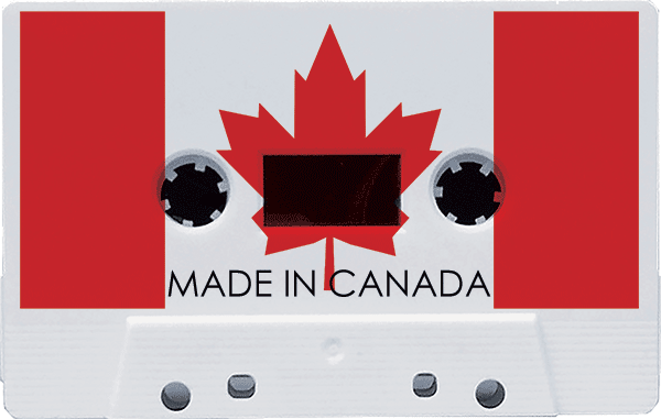 Duplication.ca Canadian cassette manufacturing