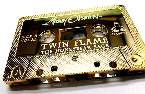 etching and laser engraving on cassette