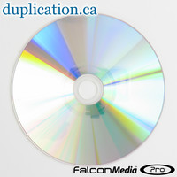 Falcon silver shiny DVD-R