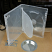 Clear pro-grade Eco II double DVD case