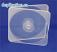 Square CD/DVD clamshell case mailer case style 37202