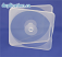 Square Clamshell cd dvd case