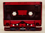 Precision high defintion red tint audio cassette with Maxell XLII-S tape