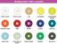 Translucent vinyl pressing colors
