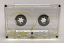 transparent audio cassette shell with clear liners for repair and making endless loop tapes