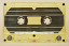 Yellow-tinted blank cassette