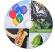 full surface printing glossy inkljet cdr