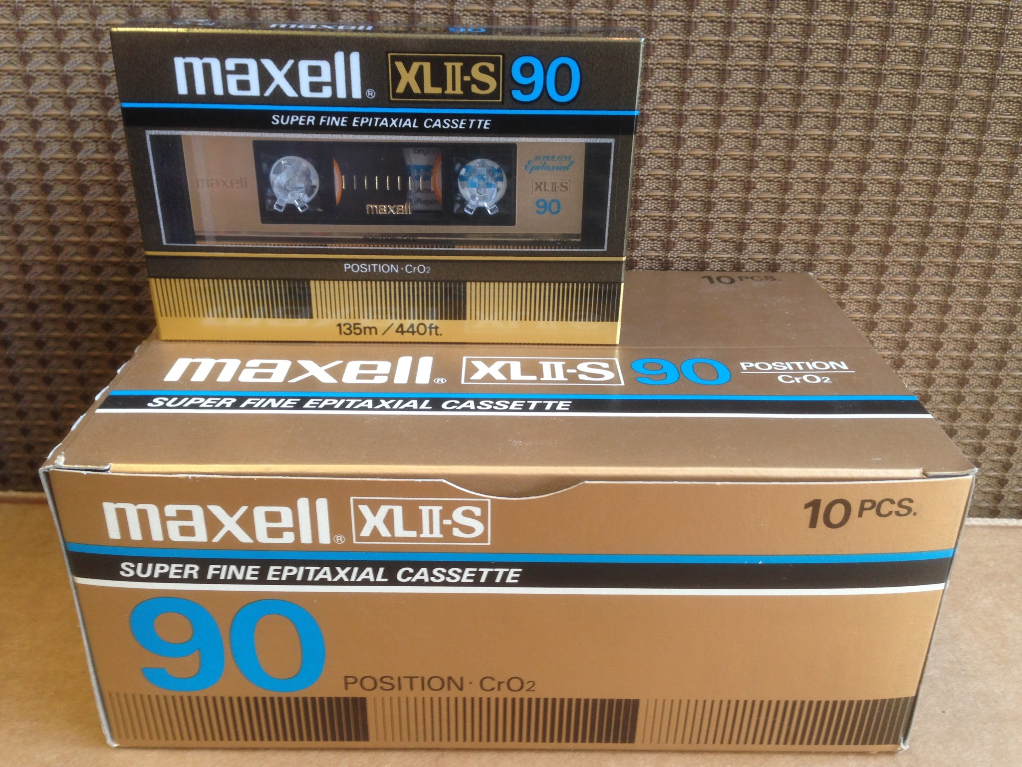 Maxell XLII-S 90 The Best High Bias CrO2 Blank Audio Cassette Tapes For Sale 890579263e2b6