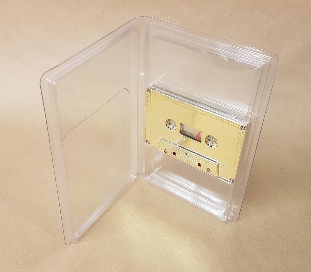 Clear Vinyl Tape Album Case - New Stock
