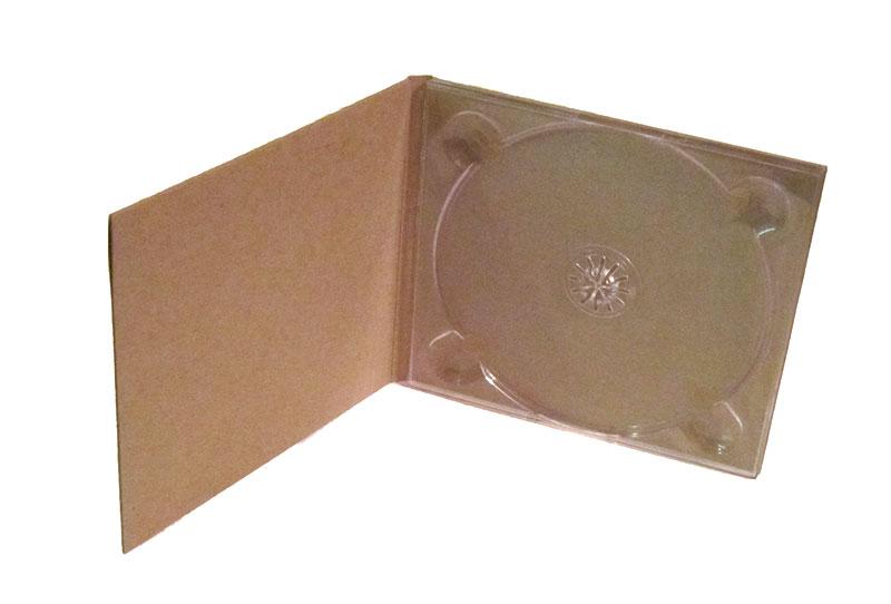 Blank Kraft Chipboard Digipaks 10pk Cd Amp Dvd Digipaks