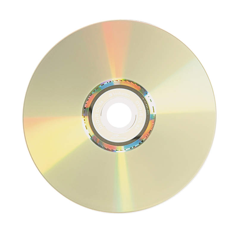 Verbatim Lightscribe 96689 DVD R DL 8X Disc Photo Large