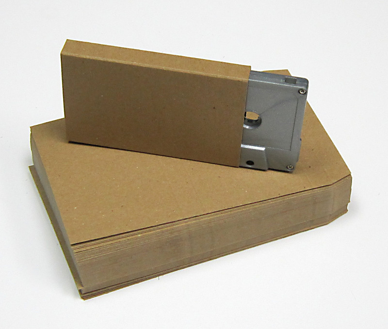 audio cassette o card blank chipboard flats 50 pack with shipping