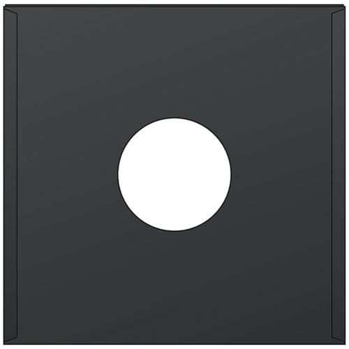 black paper inner sleeve for 12 vinyl records 100pk 12 inch inner