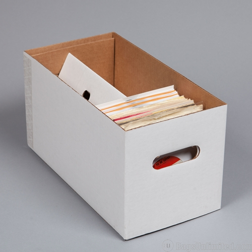 Storage Box For 7 Inch Vinyl Records Vinyl Record Packaging