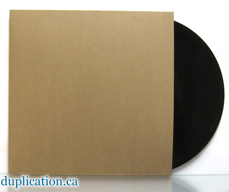 Recycled Chipboard Jacket For Vinyl 12 Quot Records 12 Inch