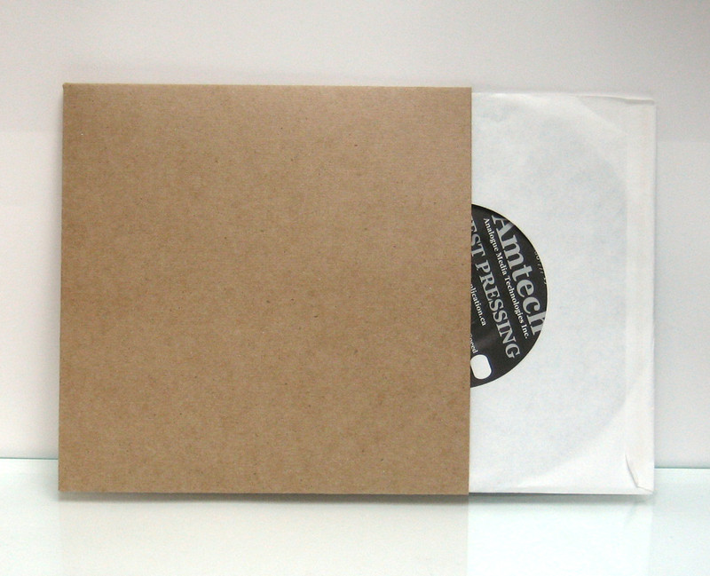 Chipboard Jacket Flats For 7 Inch Vinyl Records 7 Inch