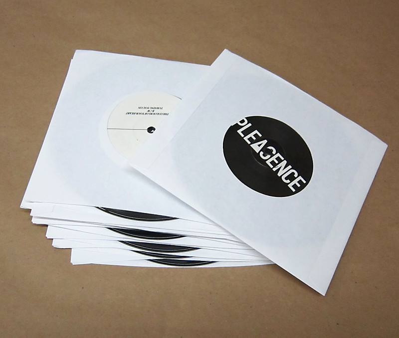 Standard White Inner Paper Sleeve For 7 Inch Records 100