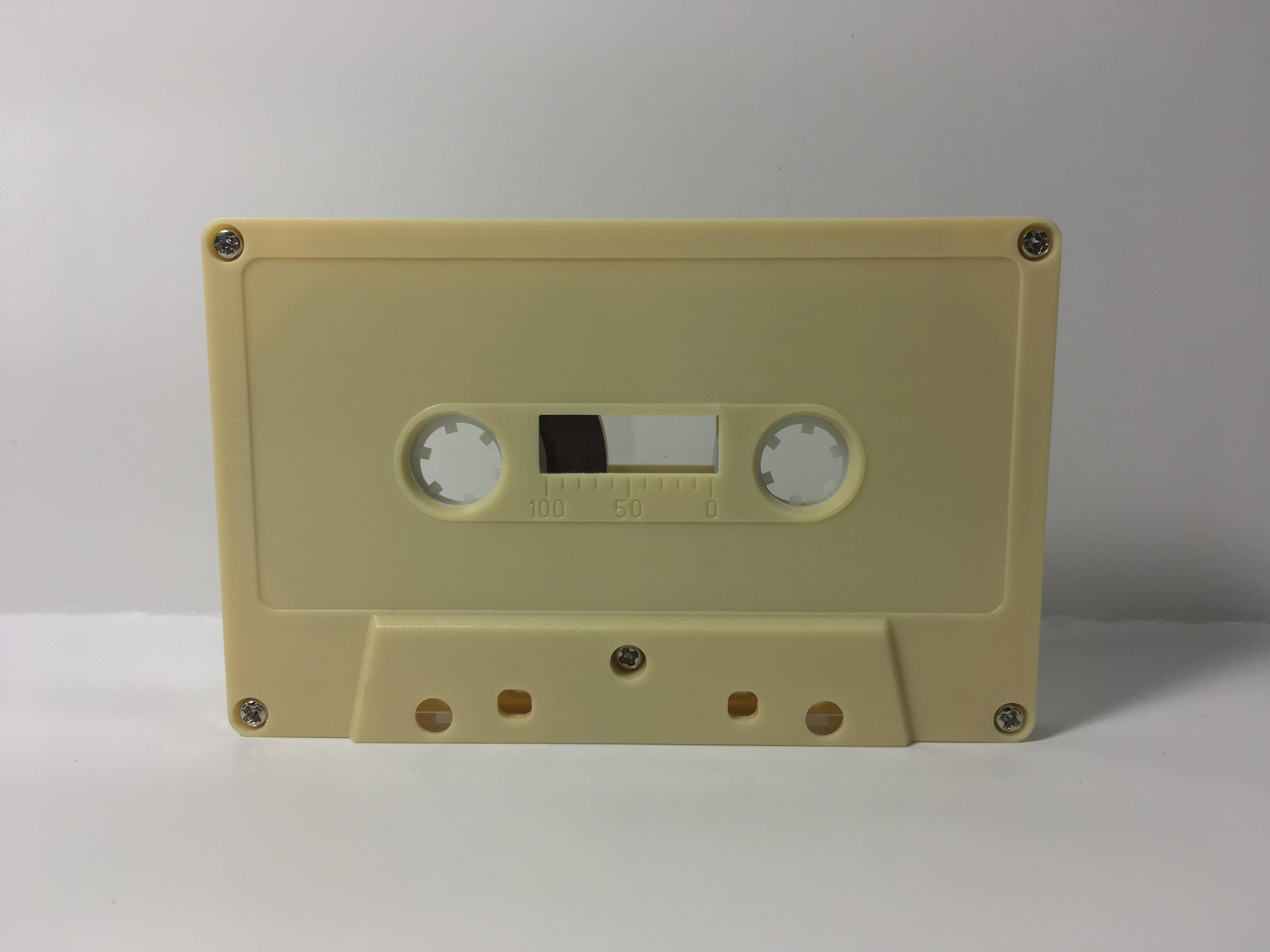 C-65 Normal Bias Cream Cassettes 24 pack